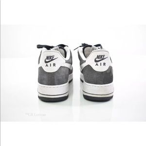 low priced 0e64d 03bde Nike Shoes - NIKE AIR FORCE 1 ANTHRACITEWHITE SUEDE 315122-067